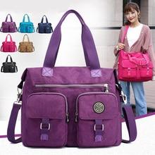 купить Women's messenger bag  handbag waterproof shoulder bags nylon travel leisure shopping bags Crossbody Bag for Women's по цене 1118.01 рублей