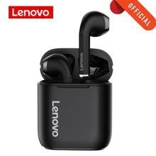 Original Lenovo LP2 TWS casque sans fil Bluetooth 5.0 contrôle tactile double stéréo basse écouteurs avec Micphone sport écouteurs