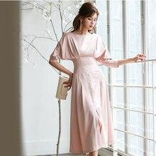 longues décontracté robe couture