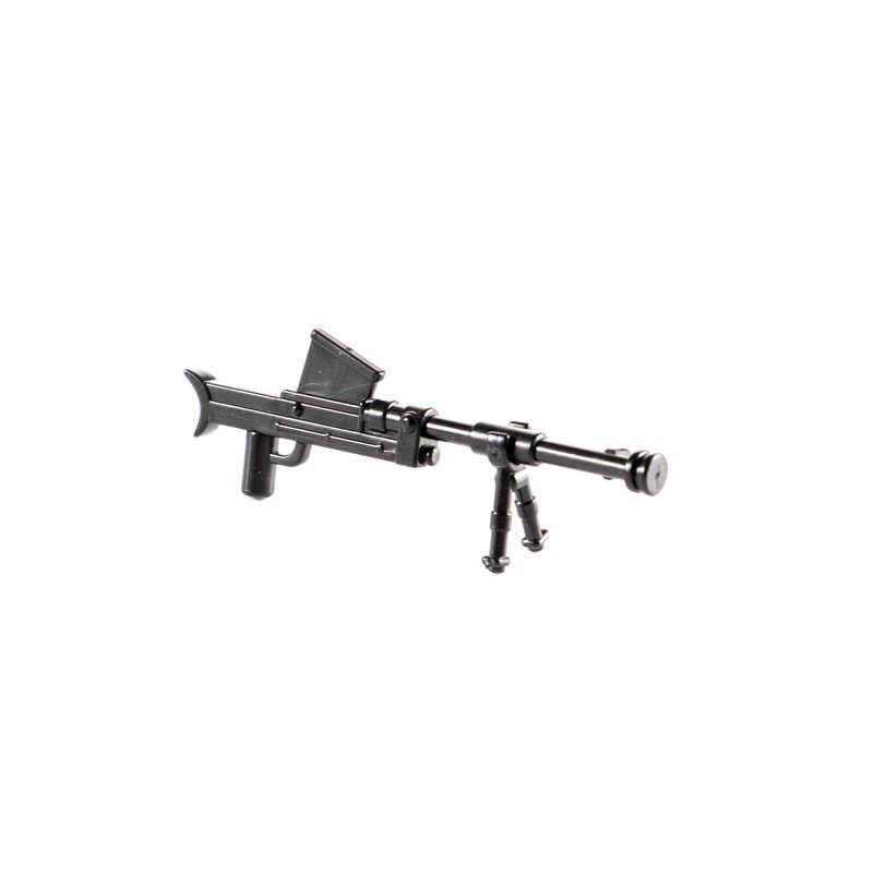 WW2 أسلحة الجيش الألماني اللبنات Bois المضادة للدبابات بندقية صاروخ قاذفة RP54 رشاش MP40 الطوب العسكري لعبة C073