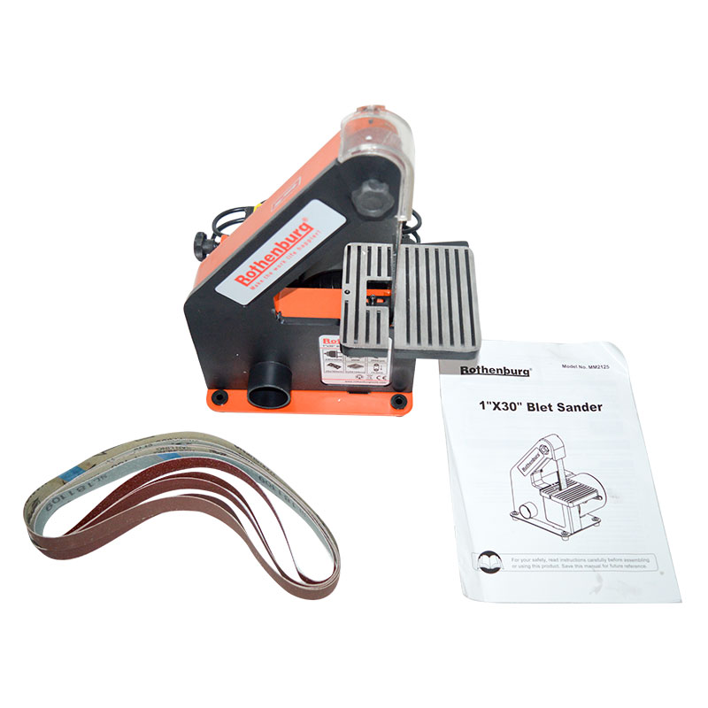 Vertikalus juostinis šlifuoklis Medienos apdirbimo metalo šlifavimo - Elektriniai įrankiai - Nuotrauka 6