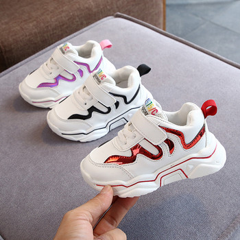 2020 New Fashion Toddler Infant Kids Boys Girls Bling Mesh Breathable Sport Running Shoes Sneakers Sapato Infantil kids shoes