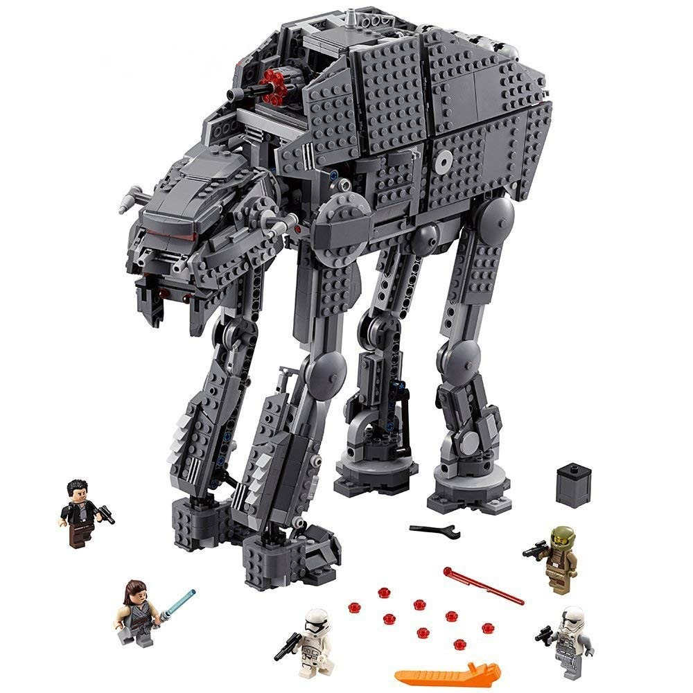 05130 10908 Star Wars Series First Order Heavy Assault Walker Building Block Bricks Compatible LegoINGlys 75189 Starwars Toys