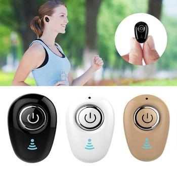 Mini Wireless Bluetooth Earphone Sports Handfree In-Ear Stereo Earbud Headset Hands-free For Phones Car TV PC Sport Earbud image