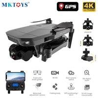 MKTOYS-cuadricóptero con cámara 4K, profesional, mecánico, 3 ejes, cardán, RC, cuadricóptero, GPS, M10, F11, SG907, MAX PRO