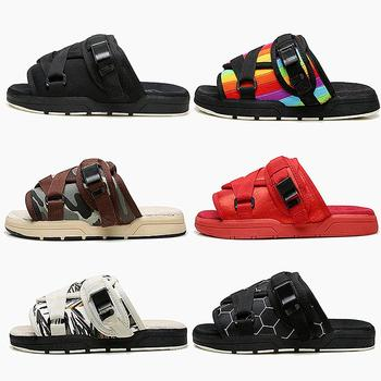 Man Slippers Fashion Thick Bottom Beach Shoes Brand Couple Casual Sandals Summer Wear Anti-skid Outdoor