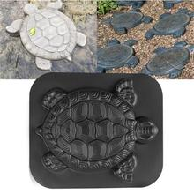 Garden Paving Cement Brick Molds Tortoise Shaped Path Maker