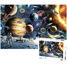 Quebra-cabeças 1000 peças de montagem imagem cenário espaço estrelas quebra-cabeças brinquedos para adultos crianças crianças jogos educativos brinquedos