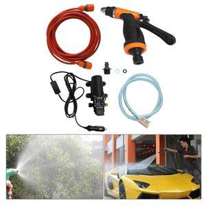 12 В 130 фунтов/кв. дюйм, насос для мойки автомобиля высокого давления, Электрический насос, комплект системы, Бытовая Машина для мойки автомоб...
