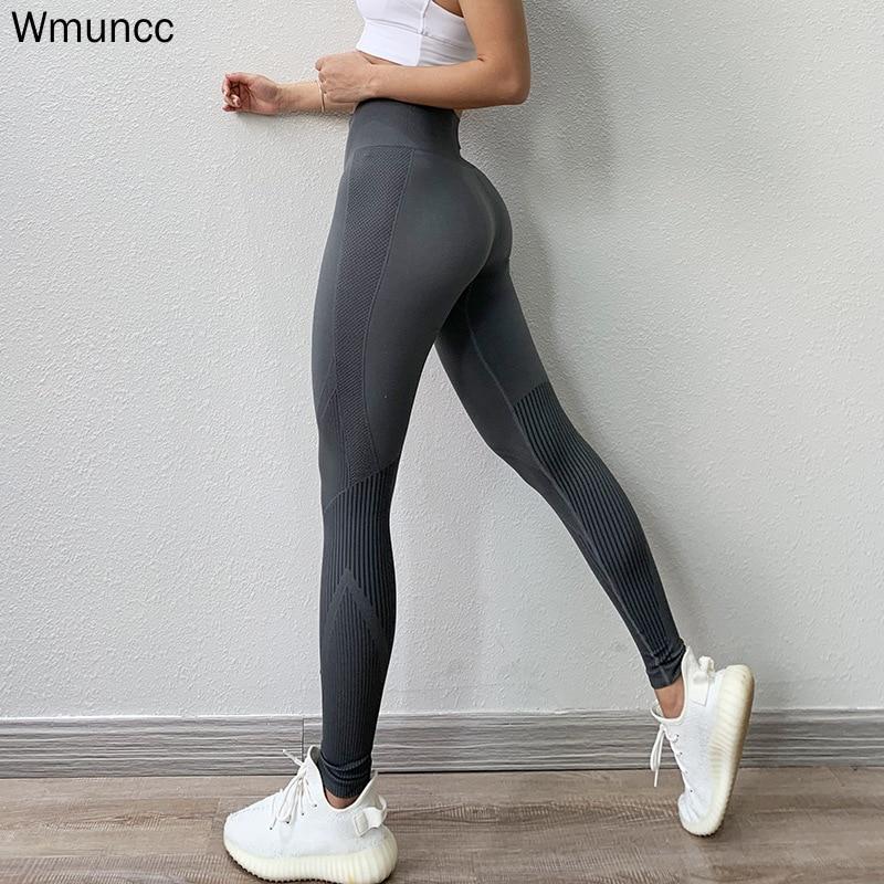 Fitness High Waist Legging Tummy Control Seamless Energy Gymwear Workout Running Activewear Yoga Pant Hip Lifting Trainning Wear