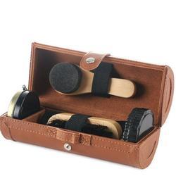 6 sztuk butów do polerowania i ochrony zestaw but skórzany połysk zestaw szczotki do butów kompaktowy zestaw do czyszczenia obuwia z PU skórzane etui do polerowania w Szczotki do butów od Dom i ogród na