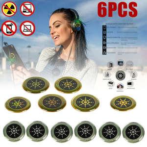 Blocker-Sticker Quantum-Shield Scalar-Energy-Set Emf Protection Anti-Radiation 6PCS Neutralizer