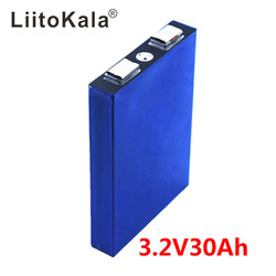 LiitoKala LiFePo4 3.2V 30AH 5C batterie lithium bateria pour bricolage 12V lifepo4 e-bike e scooter fauteuil roulant AGV voiture chariots de Golf