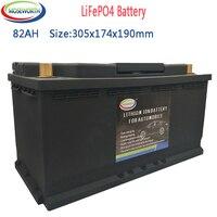 LiFePO4 082-20 Batterie 82AH Auto Batterie 12V Lithium-Phosphat ionen Auto Automobil 1600CCA Größe-305*174*190mm LiFePo4 Batterie