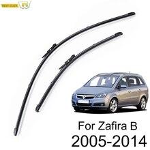 Misima щетки стеклоочистителя ветрового стекла для Opel Zafira B 2005- стеклоочиститель переднего стекла 2007 2008 2009 2010 2011 2012 2013