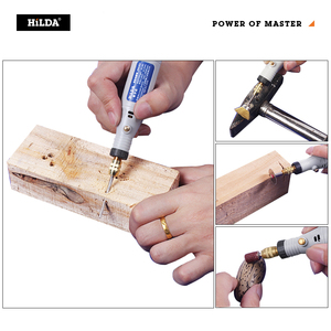 Image 5 - HILDA Mini Drill Rotary tool 18V Engraving Pen With Grinding Accessories Set Multifunction Mini Engraving Pen For Dremel tools
