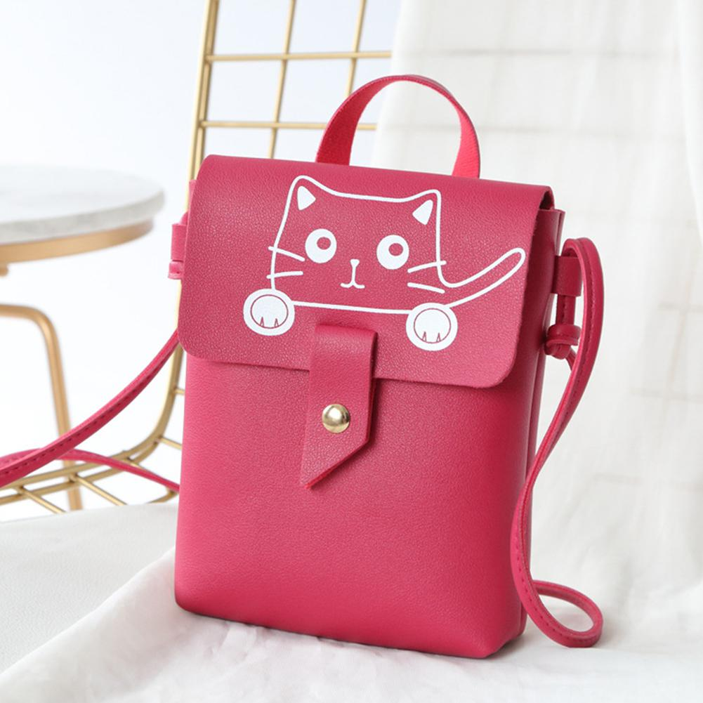 2019 PU Leather Shoulder Bag Women Messenger Bag Casual Crossbody Bag Chain Trendy Candy Color Small Flap Shopping Handbag
