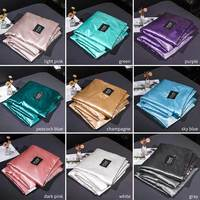 Bedspread Ice Silk Bedding Supplies Air Condition Comforter Bed Cover Solid Color Blanket Summer Silk Quilt Kids Adult Washable