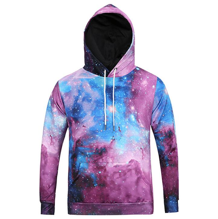 Top Quality New Style 3D Printed Stars Men Hoodies 2019 Popular Design