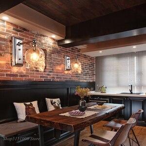 Image 2 - Applique murale rétro, en bouteille de verre transparent, os de crâne, éclairage artistique pour Loft, salle à manger, Bar, décoration de maison