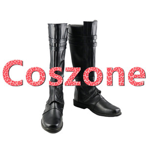 Image 1 - AnakinSkywalker Black Cosplay Shoes Boots Halloween Carnival Cosplay Costume Accessories