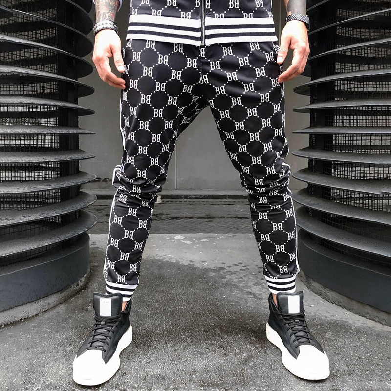 New Casual Feet Pants Fashion Men's 2019 Hip Hop Men's Trousers Jogger Streetwear Wild Trousers Brand Trousers