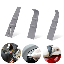 FOSHIO 3PCS Carbon Fiber Wrap Car Vinyl Squeegee Sticker Remover Cleaning Tool Wrapping Window Tint Scraper Accessories