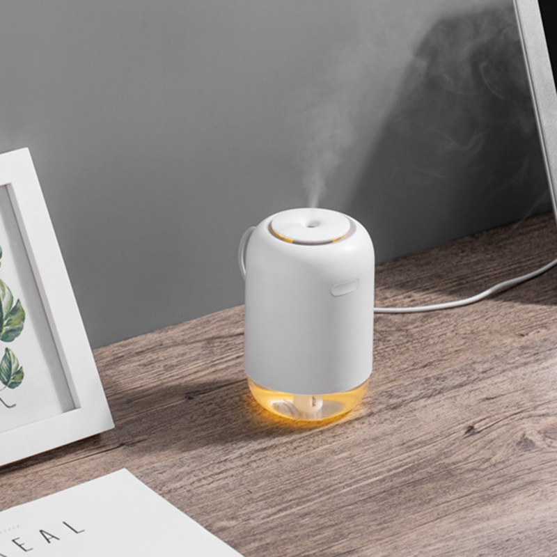 New 200ML Ultrasonic Air Humidifier Aroma Essential Oil Diffuser for Home Car USB Rechargeable Fogger Mist Maker with LED Night|Humidifiers| |  - title=