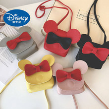 Disney Mickey Mouse Cartoon Female PU Mini Bag Handbag Leisure Fashion Satchel Shoulder Shopper Lady Plush Backpack gift