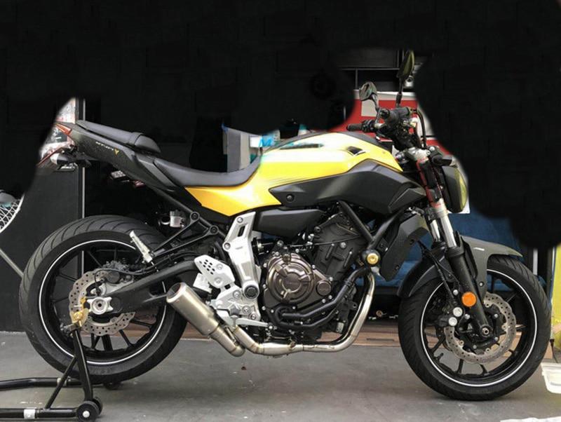 Мотоциклетные трубы из нержавеющей стали для yamaha mt 07 mt07