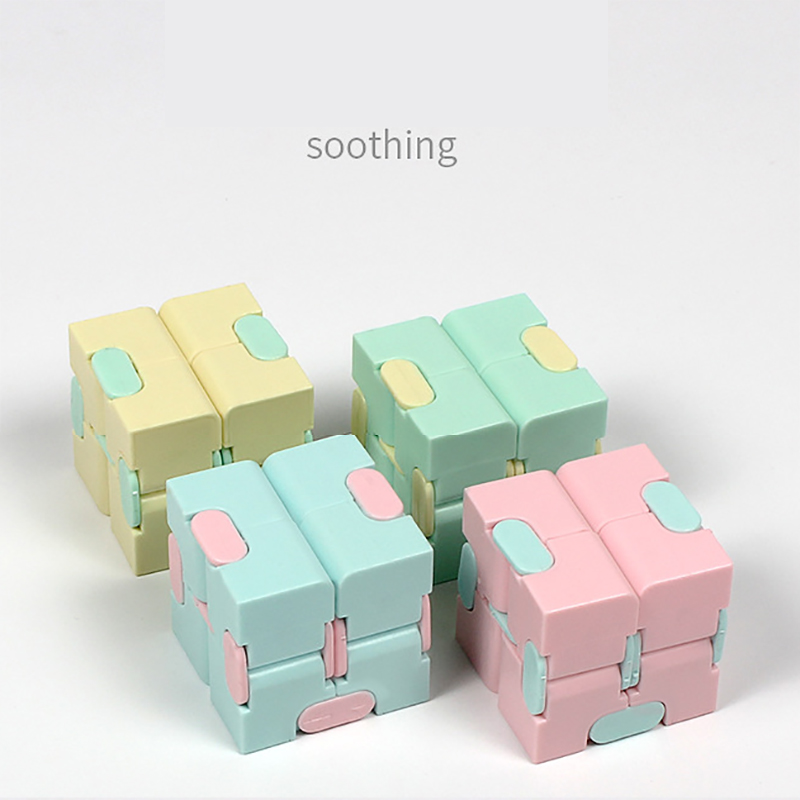 Toy Cube-Blocks Infinity-Cube Stress-Relief Finger EDC Anxiety for Children Best-Gift img1