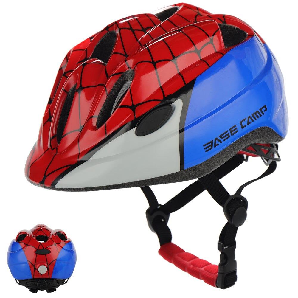 BASECAMP אופני קסדת ילדי קטנוע אופניים רכיבה על אופניים אור קריקטורה חיצוני ספורט קסדת ילדי בני בנות casco bicicleta-בקסדה לאופניים מתוך ספורט ובידור באתר