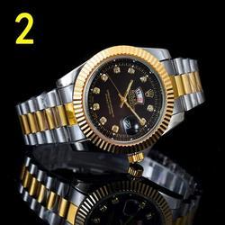 Топ люксовый бренд WINNER черные часы Мужские Женские повседневные мужские часы деловые спортивные военные часы из нержавеющей стали 6424