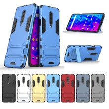 Armor Back Phone Case For Oneplus 3 3T 5 5T 6 6T 7 Pro one plus 6 T 7 Cover PC+TPU Hybrid Silicone Shockproof Protection Cases one plus 6t case oneplus 7 7 pro cover leather case card pocket wallet bag protection flip cover for oneplus 6t 6 5 5 t 3 3t 2
