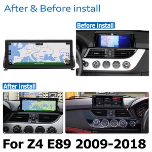 Image 3 - Car Radio DVD Player For BMW Z4 E89 2009~2018 CIC Android 8.0 up Autoradio GPS Navigation HD Touch Screen