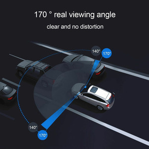 Image 5 - Dash Cam Dual Lens Full HD 1080P 1.7 IPS Car DVR Vehicle Camera Front+Rear Night Vision Video Recorder G sensor Parking Mode WDR