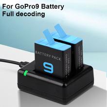 Dla go pro hero 9 ładowarka dla GoPro hero 9 czarny Li-ion AHDBT-901 akcesoria do kamer Batteria cheap ruigpro Kamera CN (pochodzenie) Standardowa bateria For gopro 9 battery and charger