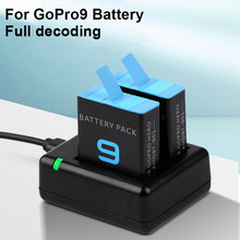 For go pro hero 9 Battery Charger / for GoPro Hero 9 Black Li-ion AHDBT-901 Batteria Camera Accessories