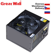 PSU 12V Fan Computer-Power-Supply-Unit Quiet 600W 80plus PC ATX Bronze Great-Wall 120mm