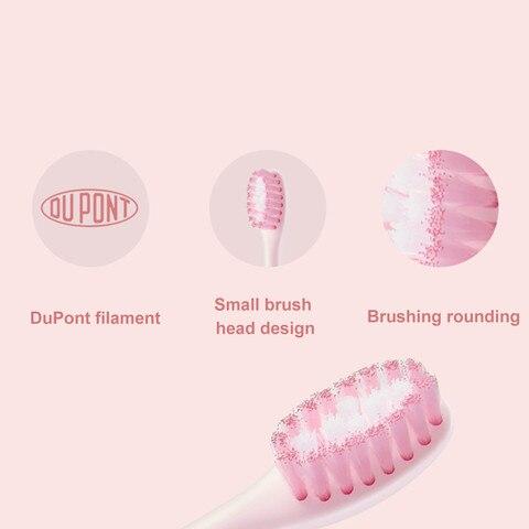 escova de cabeca pequena escova dentes