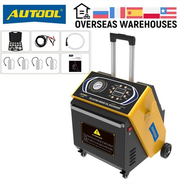 AUTOOL AST618 12V Vehicles Pulsating Brake Oil Exchanger Pulse Oil Change Recover Car Brake Fluid Four Clutch Slave Cylinders