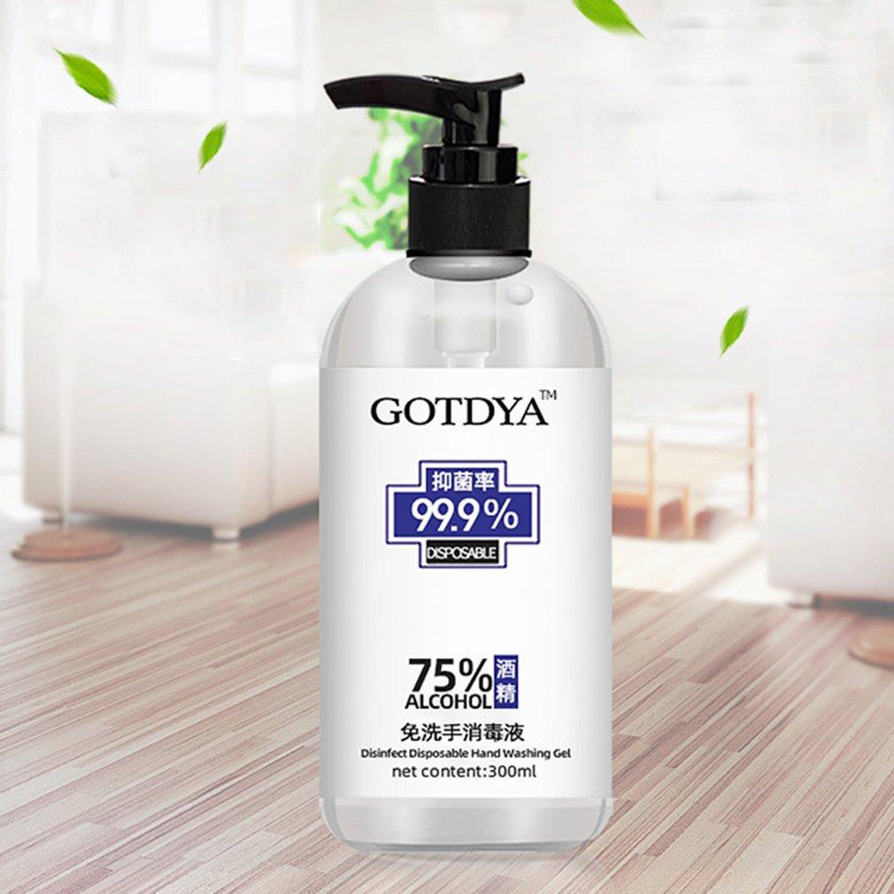 80/300ml Press Head Sanitizer Gel Anti-Bacteria Moisturizing Liquid Disposable No Clean Waterless Antibacterial Hand Gel