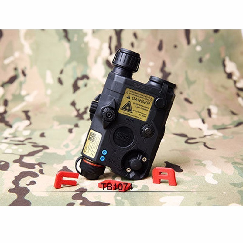 New Tactical Fma Peq La5 c Update Campsite Version Levou White Light Red laser Ir Tb1074 Bk de fg Helmet Accessory Hunt in Helmets from Sports Entertainment