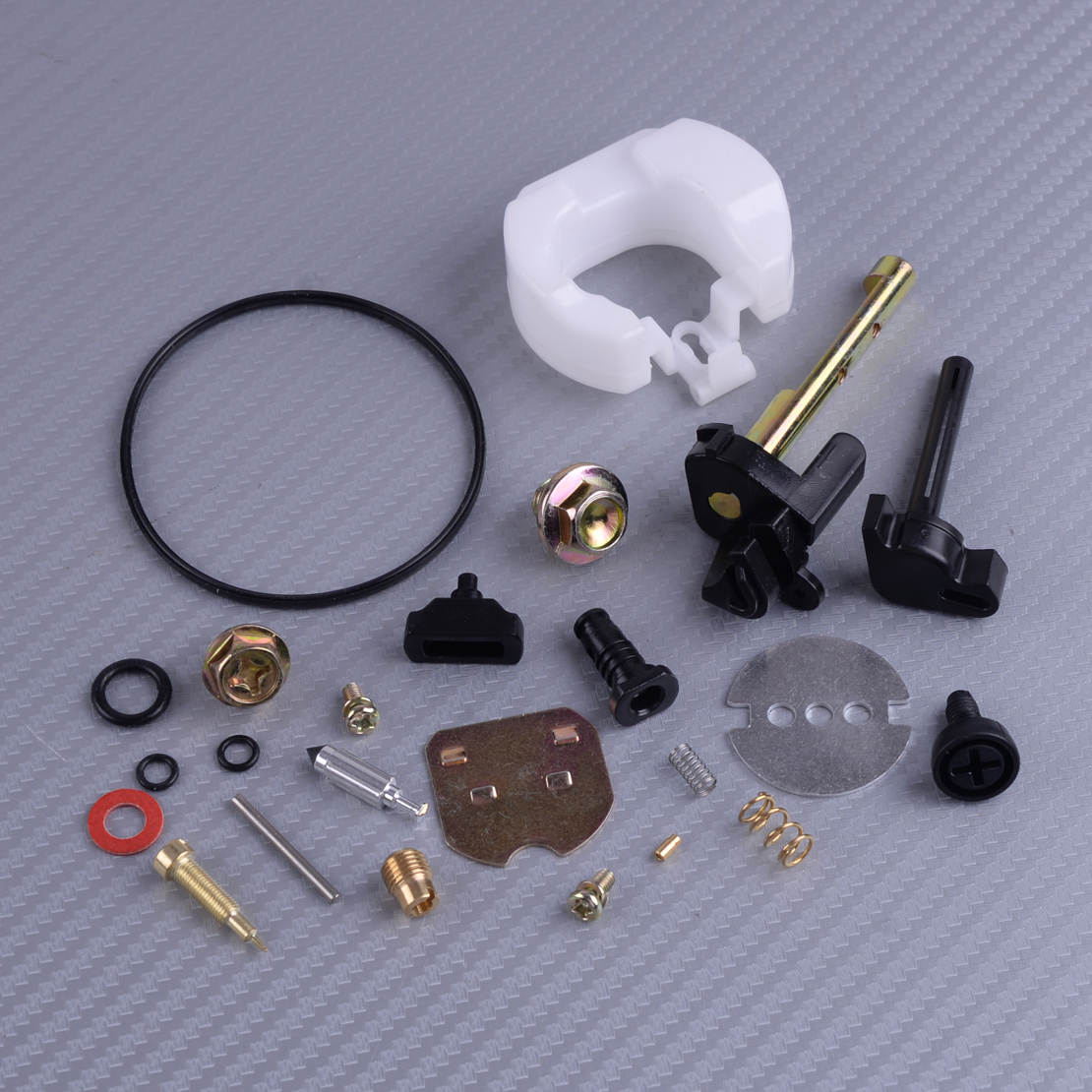 LETAOSK New Carburetor Carb Carby Rebuild Repair Kit Accessories Fit For Honda GX390 13HP