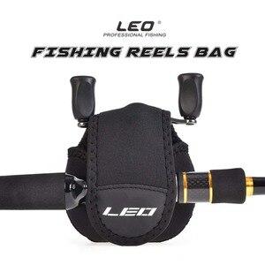 Рыболовная катушка LEO, защитная сумка для катушки чехол для барабана/спиннинга/катушки для плота, сумка для хранения, водонепроницаемая