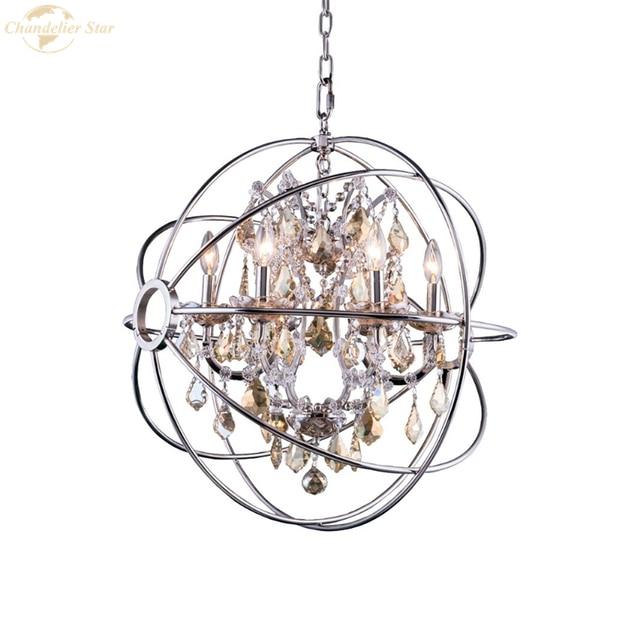 Традиционные светодиодные люстры металлические светильники с