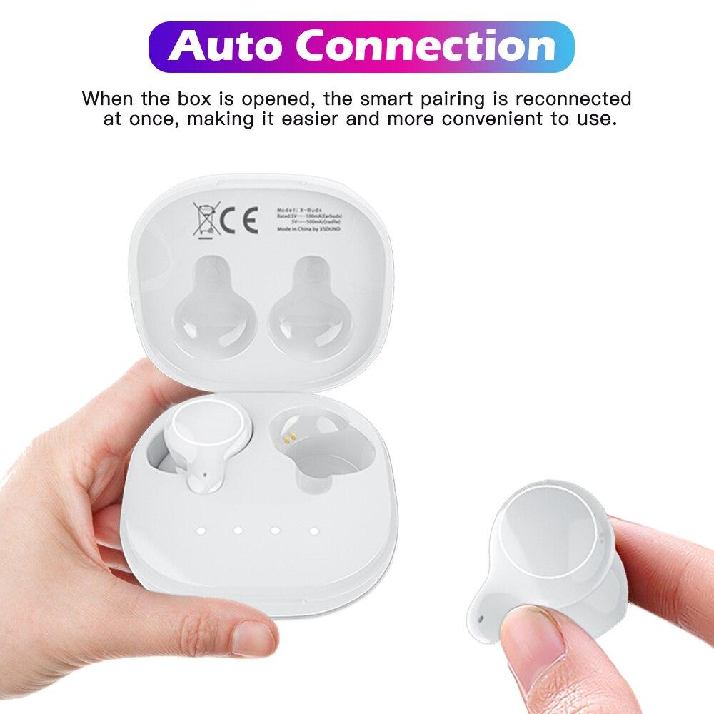 Cigfun X-Buds TWS Bluetooth Earphone Mini Wireless Earbuds IPX5 Waterproof Sports Stereo Headset with Mic For Xiaomi Phone 3