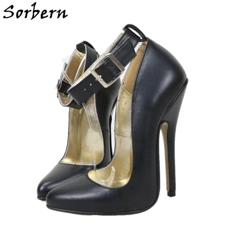 office black high heels