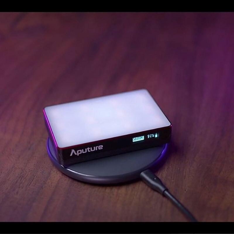 Aputure AL MC освещение для фотосъемки портативное светодиодное Освещение 3200 K 6500 K RGB Освещение для видеосъемки Для Canon Nikon Sony Studio