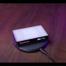 Aputure AL-MC Fotografie Verlichting Draagbare Led Licht 3200K-6500K Rgb Verlichting Video Light Selfie Voor Canon Nikon sony Studio